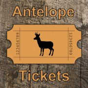 Statewide Antelope License Raffle - 1 Ticket